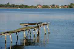 Мост рыболова Стоковые Фотографии RF