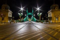 Мост свободы - Будапешт Стоковое фото RF