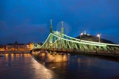 Мост свободы Будапешта Стоковая Фотография RF