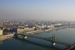 Мост свободы в Будапеште, Венгрии Стоковое Изображение RF
