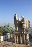 Мост свободы в Будапеште, Венгрии Стоковое фото RF
