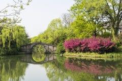 Мост свода камня Liuxiu Стоковые Фотографии RF