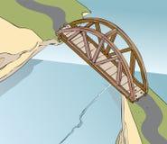 Мост свода Стоковая Фотография