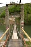 мост связал проволокой Стоковые Изображения