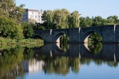 Мост Сент-Этьен в Лиможе Стоковое Изображение RF