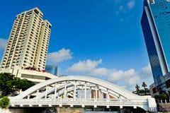 Мост Сингапура- Андерсона Стоковые Изображения RF