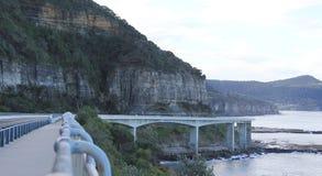Мост скалы моря Стоковые Изображения RF