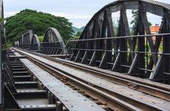 Мост смерти железнодорожный Стоковое Изображение RF