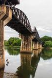 Мост смерти железнодорожный Стоковые Фото