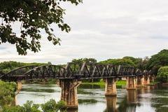 Мост смерти железнодорожный Стоковые Изображения
