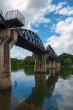 Мост смерти железнодорожный Стоковые Фотографии RF