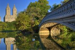 мост смычка Стоковые Фото