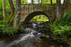 мост средневековый Стоковое Изображение RF