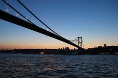 Мост 1 Стамбула Стоковая Фотография RF
