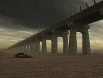 мост старый иллюстрация вектора