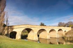 мост старый richmond Тасмания Стоковые Фото