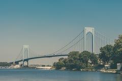 мост суживает verrazano Стоковая Фотография RF