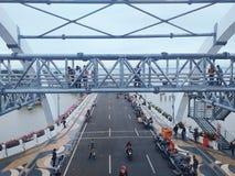 Мост Сурабая стоковое фото rf