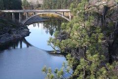 мост сценарный Стоковое Изображение RF