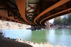 мост счета healy underneath Стоковые Изображения