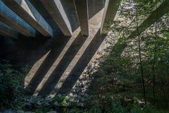 Мост следа заводи Des Moines Стоковая Фотография