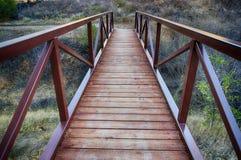 Мост следа Стоковое фото RF