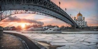 Мост сдобренный как кот Стоковое Изображение RF