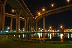 мост Таиланд bhumibol Стоковые Фото