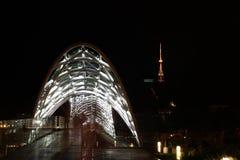 Мост Тбилиси мира, Georgia, Кавказ Стоковые Фото