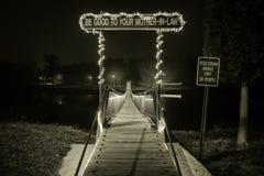 Мост тещи Стоковые Изображения RF