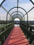 Тоннель металла сетчатый Стоковое Фото