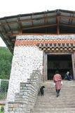 Мост - Тхимпху - Бутан Стоковые Фото