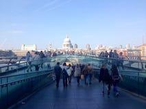 Мост тысячелетия Стоковые Изображения