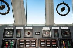 Мост управлением военного корабля Стоковая Фотография RF
