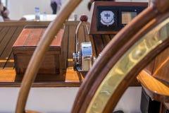 Мост управлением корабля Стоковые Фотографии RF