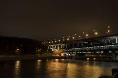 Мост утра Стоковая Фотография