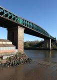 Мост ферзя Александры, Sunderland стоковые изображения