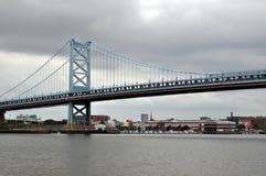 Мост Филадельфии Стоковые Фотографии RF
