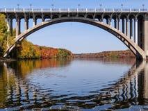 Мост Форда над Миссиссипи Стоковые Изображения