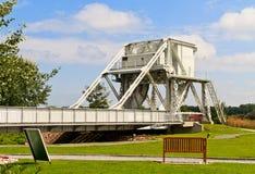 мост Франция Нормандия pegasus Стоковое фото RF