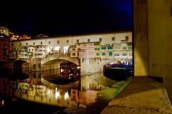 Мост Флоренса старый, Италия стоковое фото