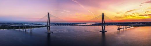 Мост Чарлстона Стоковая Фотография