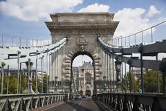 Мост в Будапешт Стоковая Фотография RF