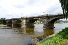 Мост через Эльбу Стоковое фото RF