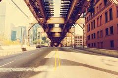 Мост Чикаго Стоковые Изображения