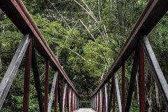 Мост шоколада стоковые фото