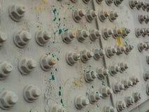 Мост штендера с гайками установки - и - болты Стоковые Фотографии RF