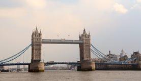 мост шлюпок london старый Стоковое Изображение