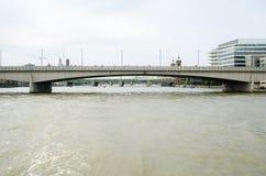 мост шлюпок london старый Стоковые Фотографии RF