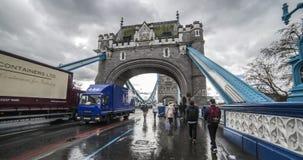 мост шлюпок london старый Стоковая Фотография
